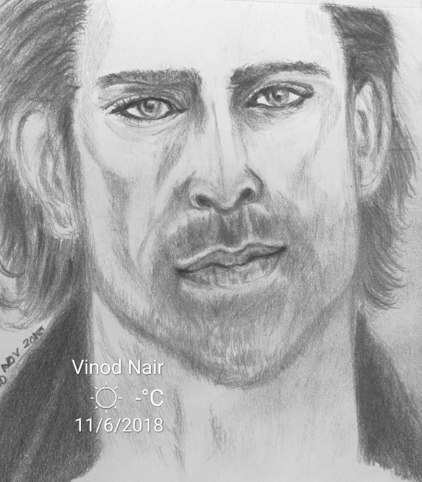 Hrithik Roshan by vinodnair